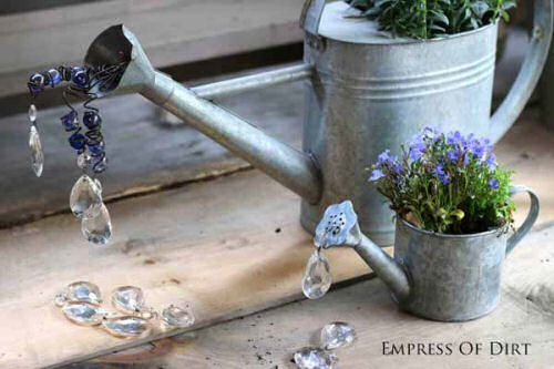 Watering Can DIY garden art