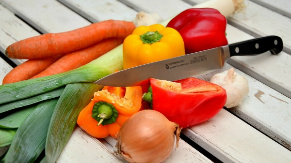 Fresh vegetables are great for healthy cooking