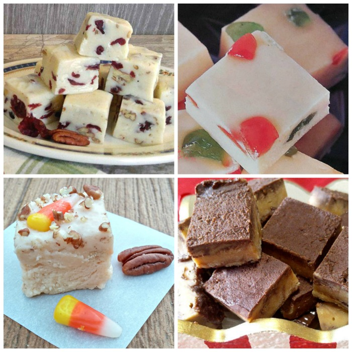 Favorite fudge recipes