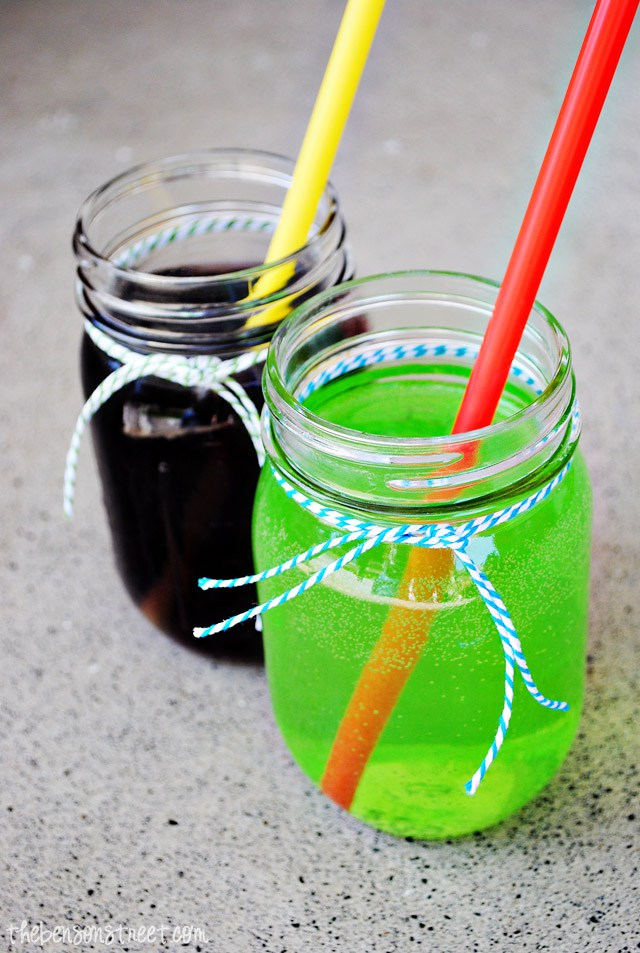 Kid friendly Witch's Brew and Zombie Punch