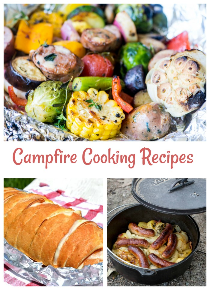 Campfire cooking recipes to make your next camping trip one of the best yet.