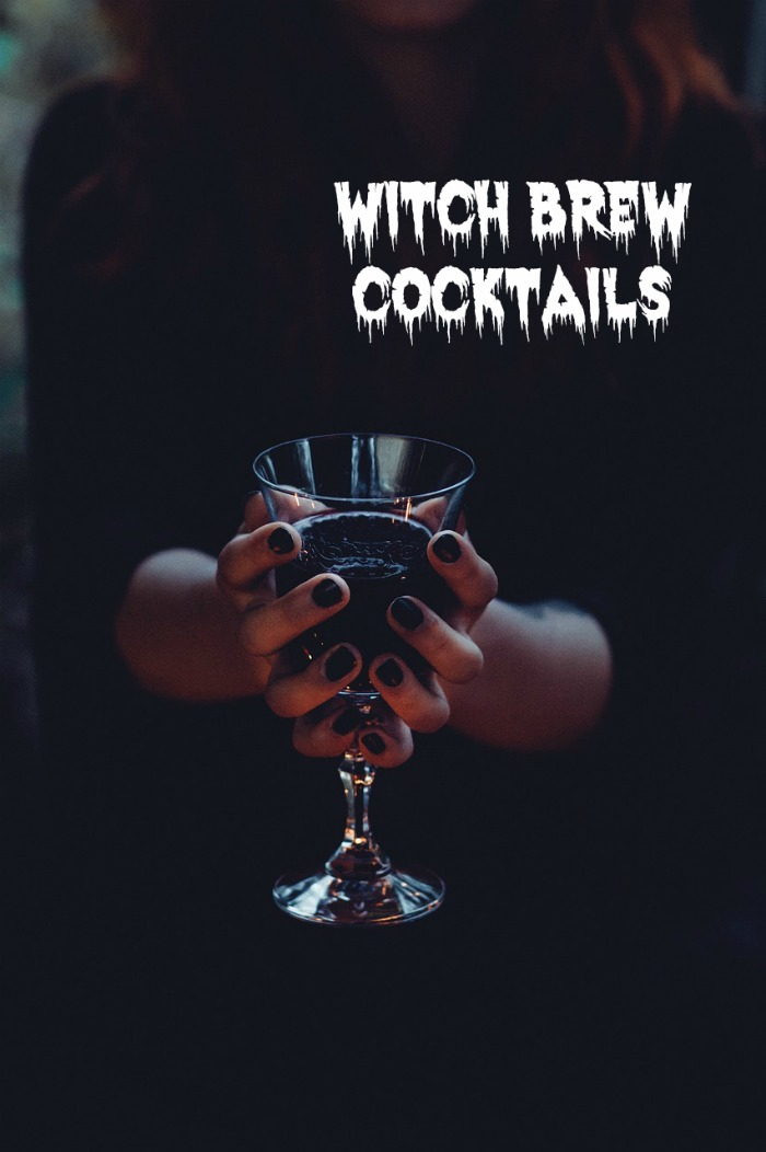 Cocktails for Halloween - witch brew, punch and more