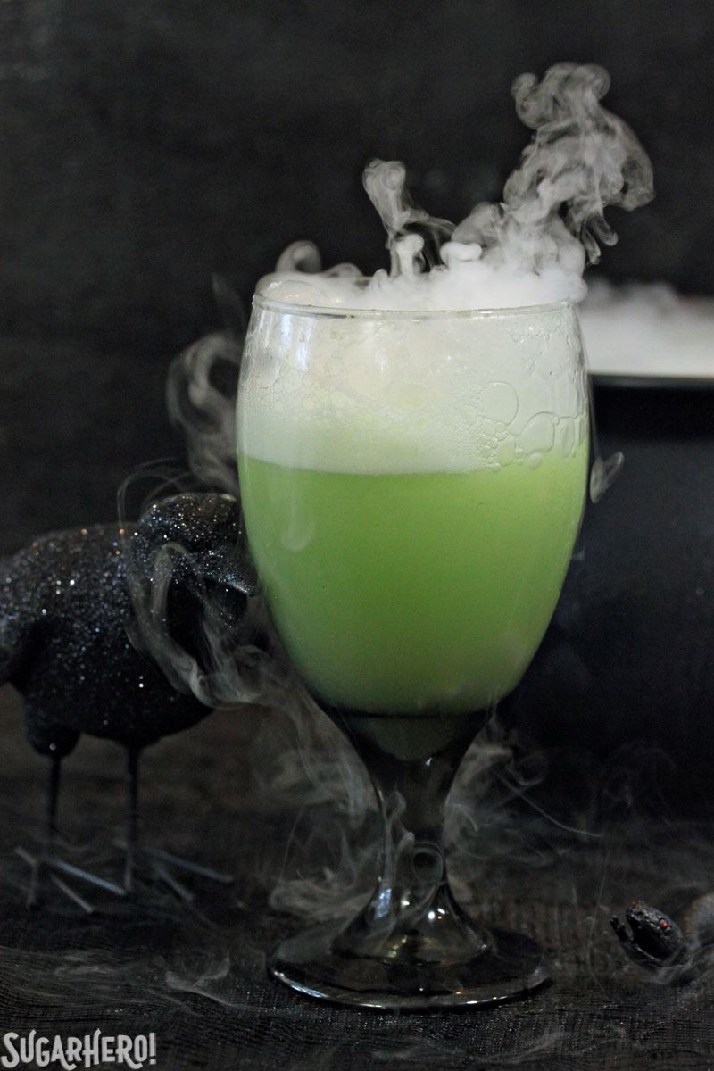 Witches brew Halloween punch