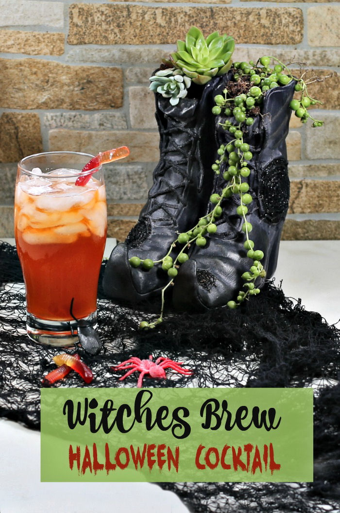 Halloween Witches brew cocktail