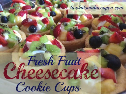 Fresh Fruit Cheesecake Cup from twokidsandacoupon.com