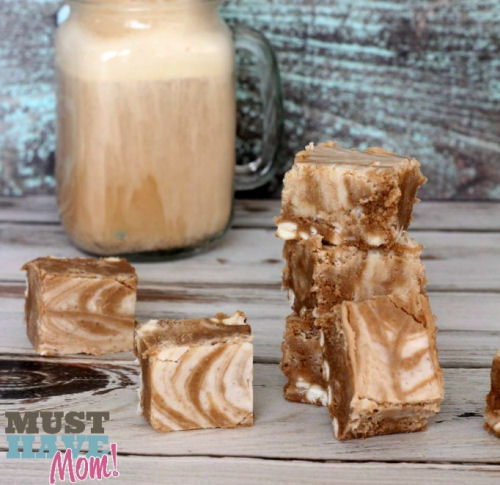 Root Beer Float Fudge from musthavemom.com