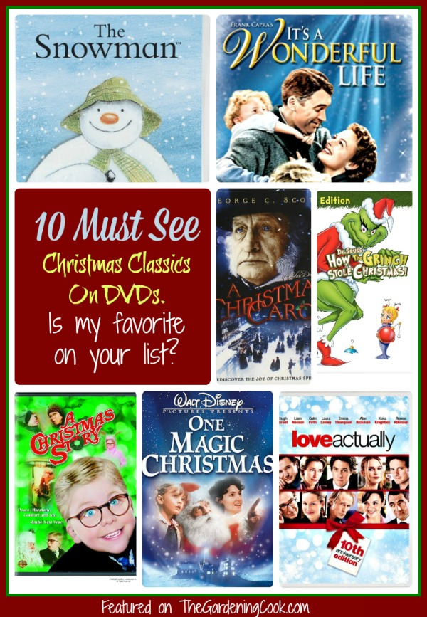 my top 10 must see christmas classics on dvd is my favorite on your list - Christmas Classics Dvd