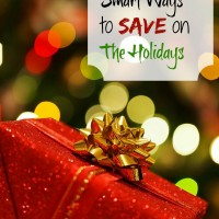 20 Smart frugal ways to save during the holidays - thegardeningcook.com/