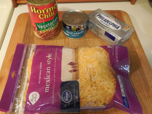 Ingredients for the dip