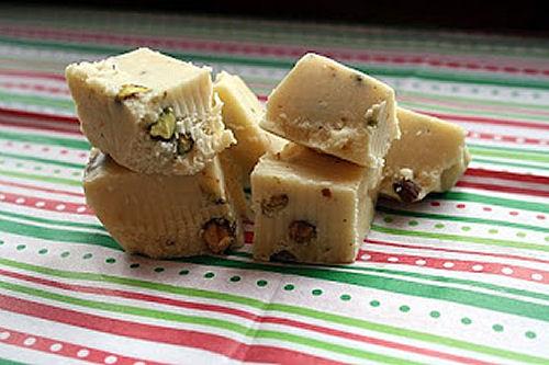 Irish Cream Pistachio Fudge from iwasborntocook.com