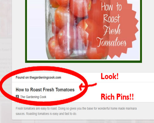 Rich pins make your content stand out on Pinterest.