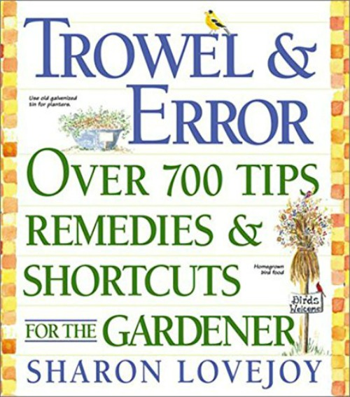 Garden Gift guide idea - gardening tips and tricks book.