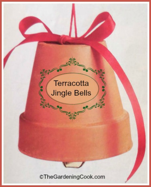 Garden Gift Guide idea - DIY terra cotta jingle bell
