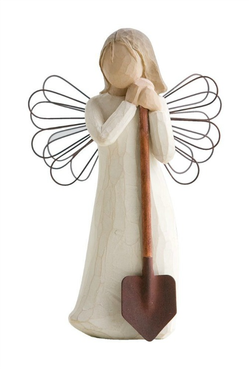 Garden Gift Guide idea - Willow Tree angel decoration