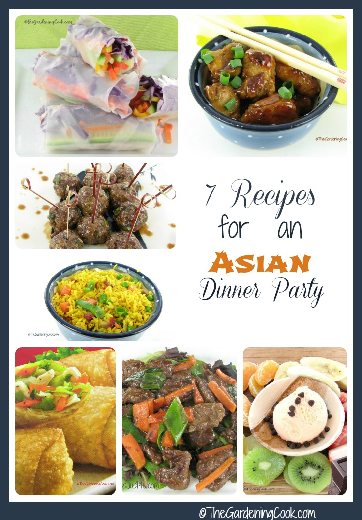7 Asian Dinner party recipes