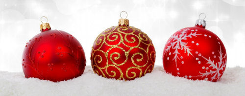 use plastic grocery bags to wrap christmas ornaments