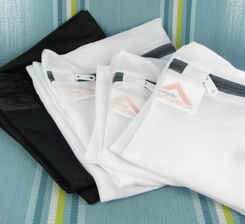 set of four laundry bags