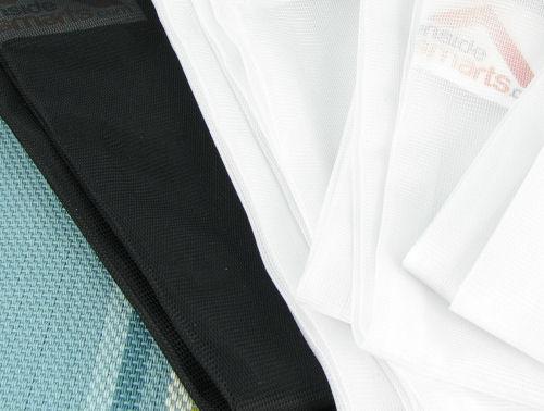 silky mesh material