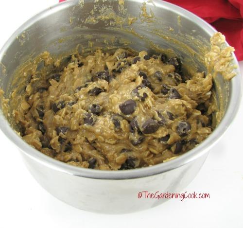 gluten free peanut butter oatmeal dough