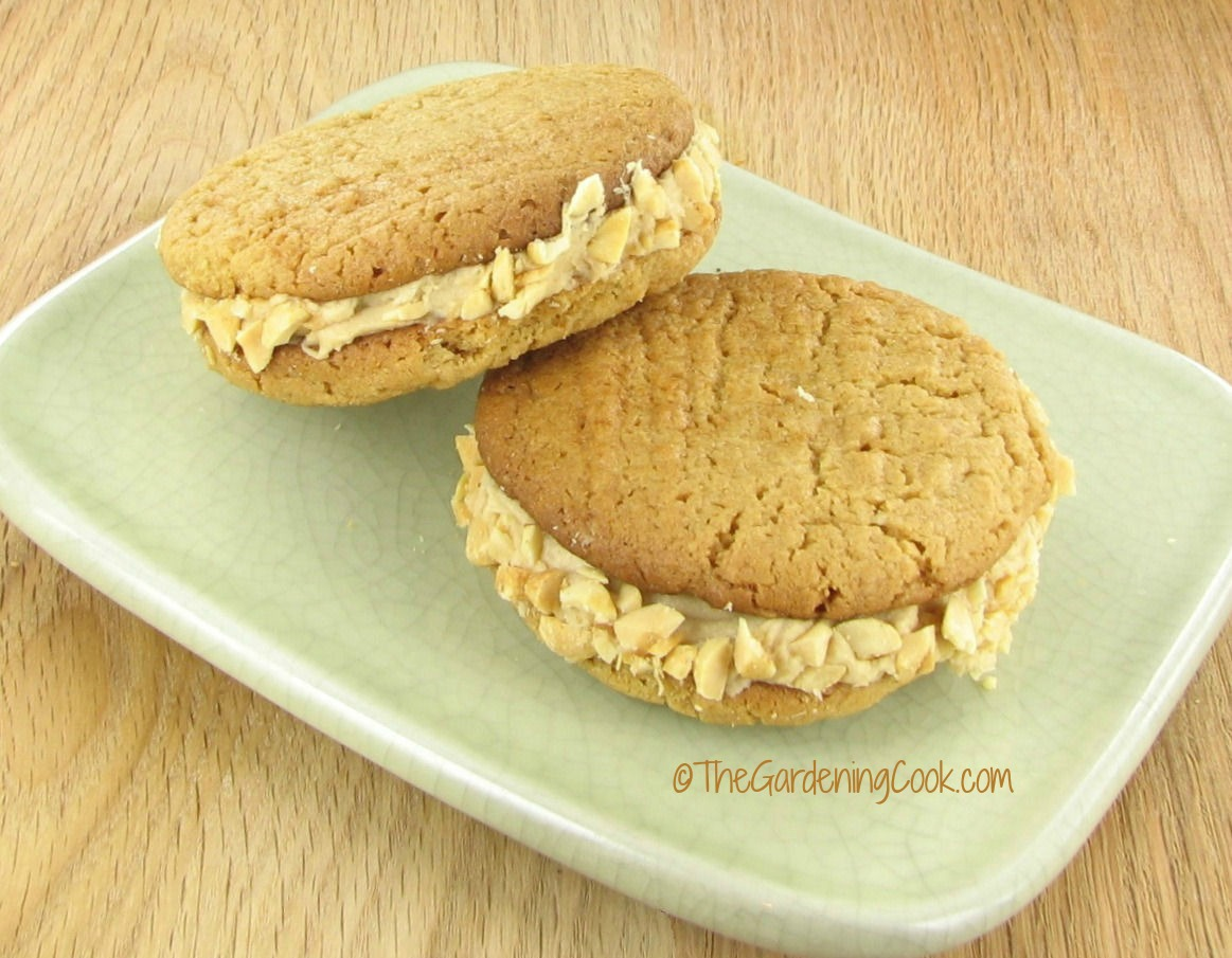 peanut butter sandwich cookies from recipesjust4u.com