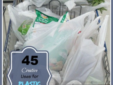 45 Creative Uses for Plastic Grocery Bags