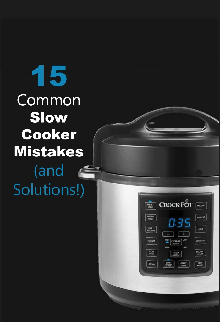 A crock pot is a great kitchen tool, but are you making one of these 15 common slow cooker mistakes? See them all (and my solutions!)