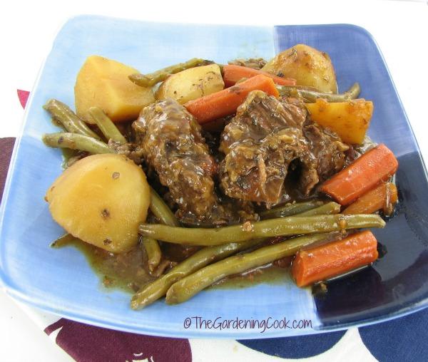 Slow Cooker Tavern Style Pot Roast