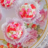 Today's featured recipe is Brigadiero - white Chocolate Truffles from mollymel.blogspot.com