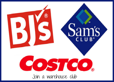 warehouse clubs mean money saving
