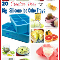 20 creative uses for extra large silicone ice cube trays