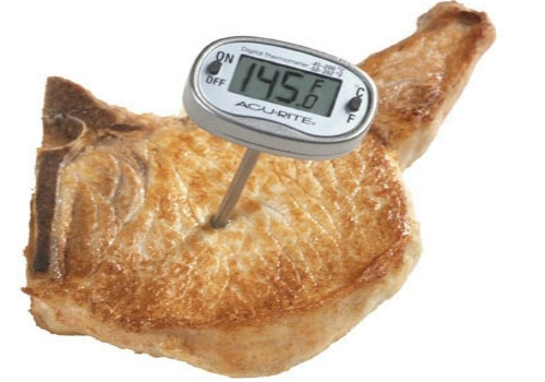 use a meat timer for best results