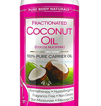 Fractionated coconut oil makes a great skin moisturizer