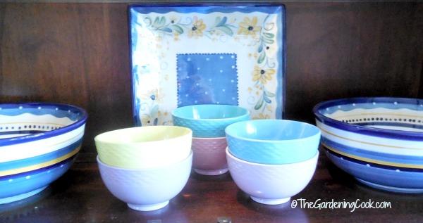 Francois et Mimi ice cream bowls
