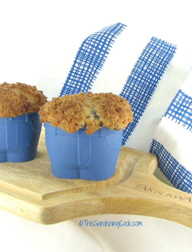 Blueberry Streusel Muffin Top Muffins
