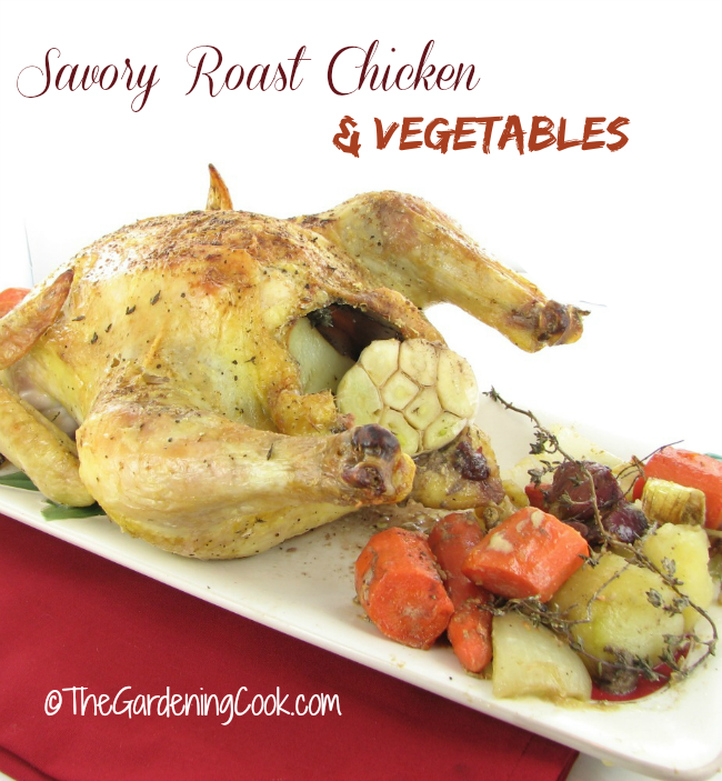 Savory Roast Chicken and Vegetables