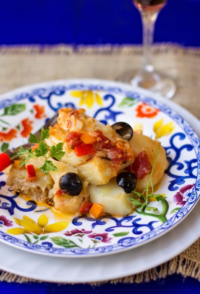 Salted Codfish casserole from mollymel.blogspot.com