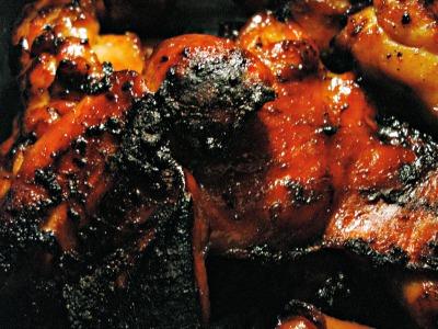 burned food