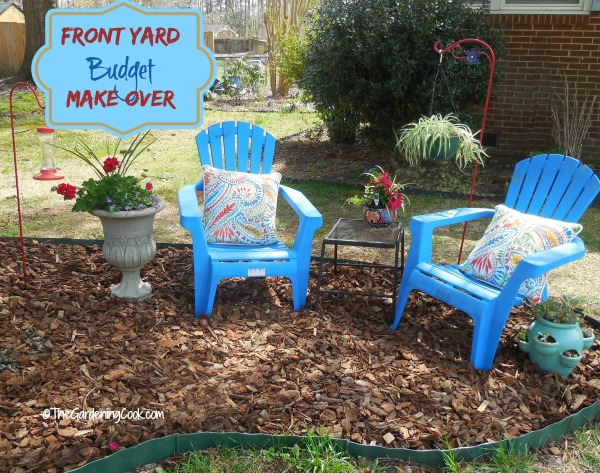 Front Yard Make over On a Budget