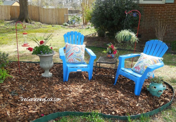 charming seating area