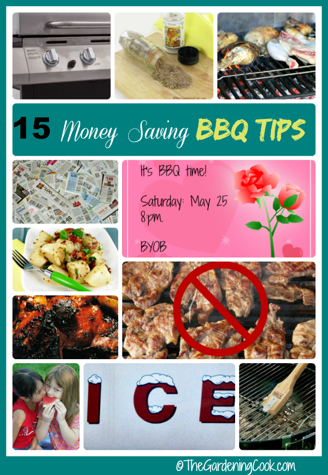 15 money saving tips for a summer barbecue the gardening cook - Money saving tips in gardening ...