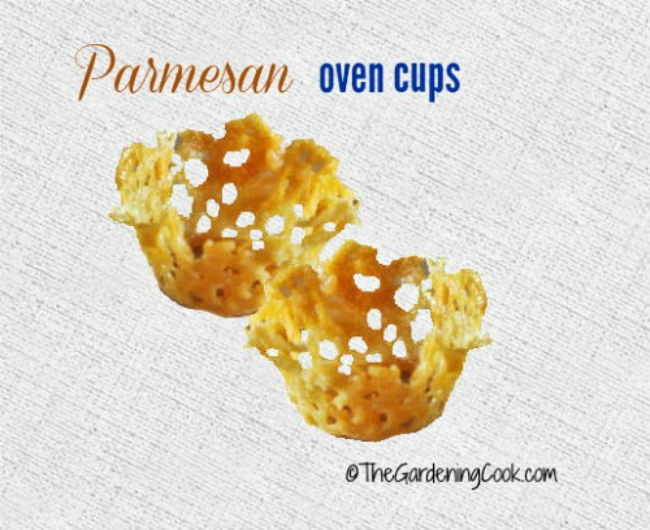 Parmesan cheese cups