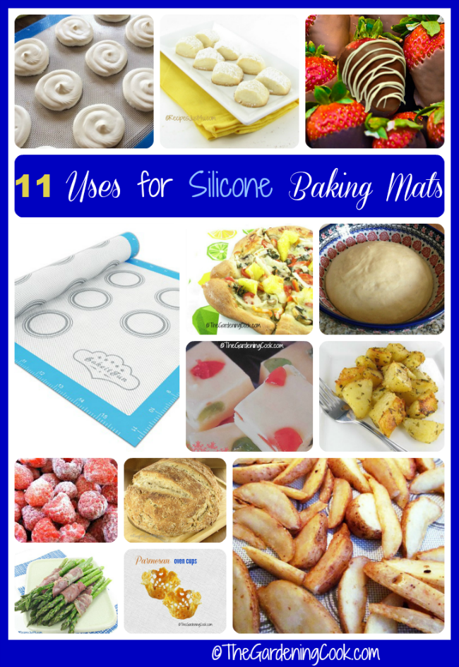 Uses for Silpat baking Mats