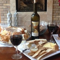 perfect wine and cheese party
