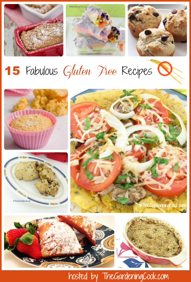 15 fabulous Gluten Free recipes