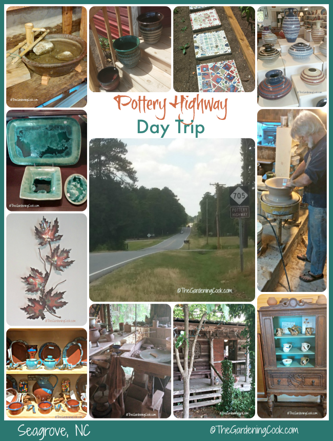 Seagrove, NC is the largest concentration of working potters in the USA. Join me for a Pottery Highway day trip in pictures.