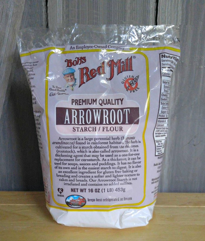 Arrowroot powder makes a good gluten free substitute for cornstarch