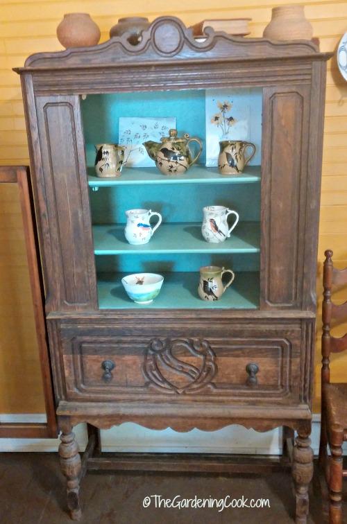 Antique furniture display