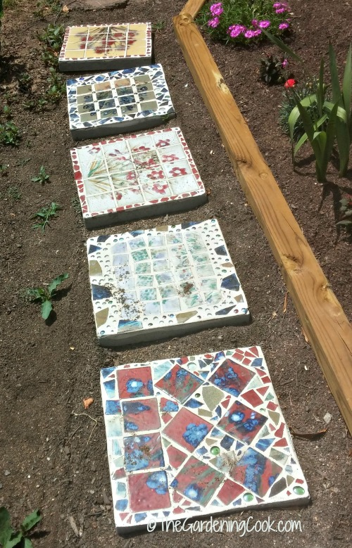 ceramic stepping stones