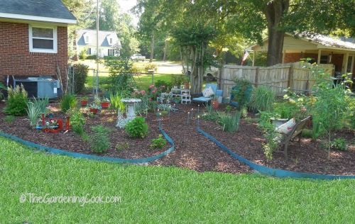 Garden Bed front view
