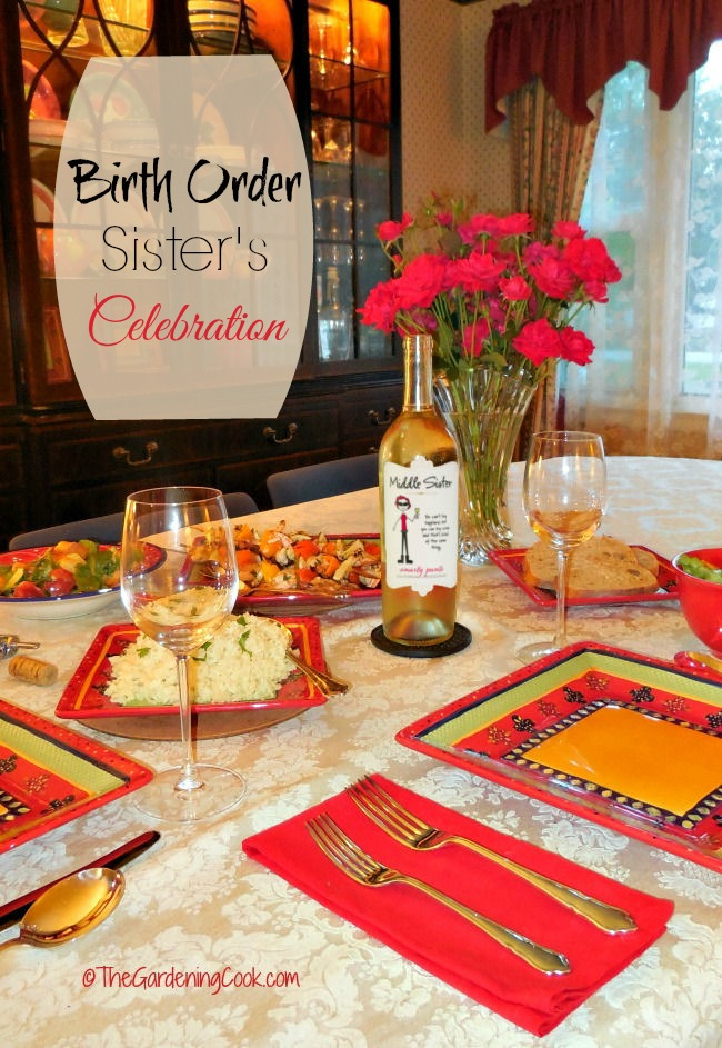 The power of birth order in your family. Join my sister's and me for a celebration of our order of birth.